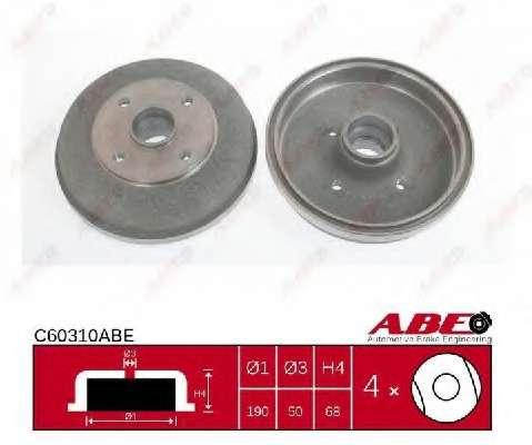 Тормозной барабан ABE C60310ABE
