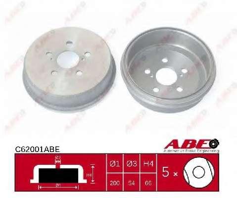 Тормозной барабан ABE C62001ABE