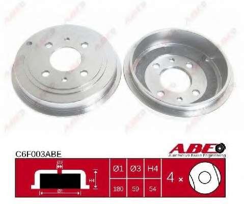 Тормозной барабан ABE C6F003ABE