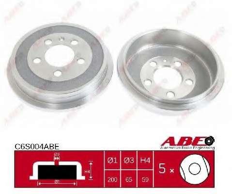 Тормозной барабан ABE C6S004ABE