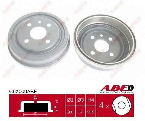 Тормозной барабан ABE C6X000ABE