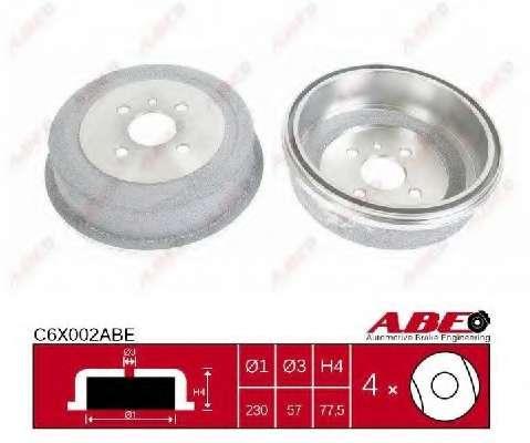 Тормозной барабан ABE C6X002ABE