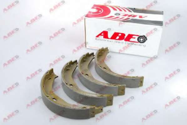 Комплект тормозных колодок, стояночная тормозная система ABE CRY001ABE