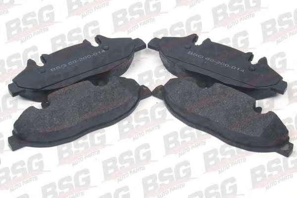 Комплект тормозных колодок, дисковый тормоз BSG BSG 60-200-014