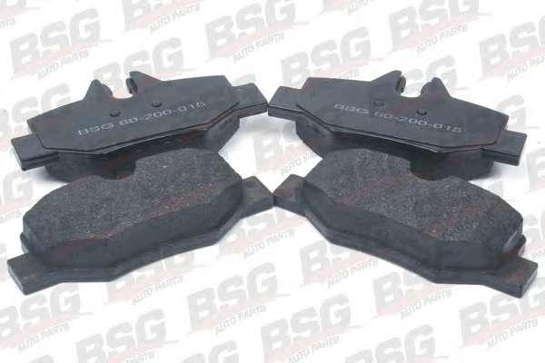 Комплект тормозных колодок, дисковый тормоз BSG BSG 60-200-015