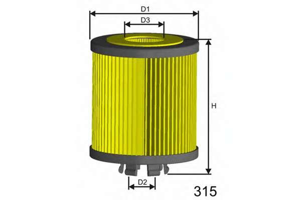 Масляный фильтр MISFAT L019