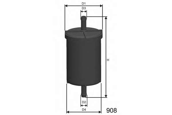 Топливный фильтр MISFAT E710