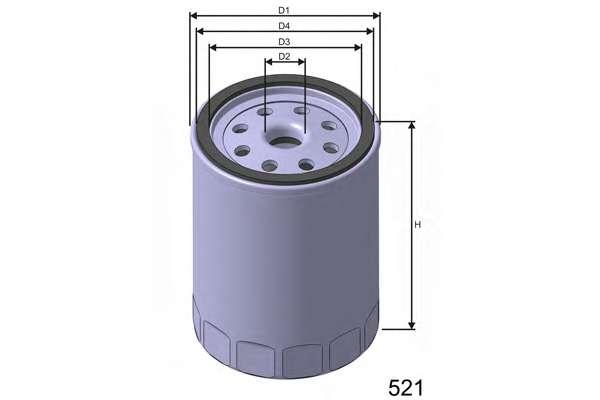 Масляный фильтр MISFAT Z292