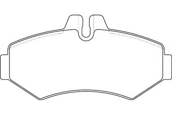Комплект тормозных колодок, дисковый тормоз WAGNER WBP23021A
