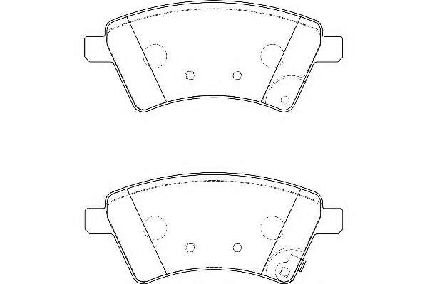 Комплект тормозных колодок, дисковый тормоз WAGNER WBP24391A