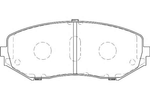 Комплект тормозных колодок, дисковый тормоз WAGNER WBP24346A