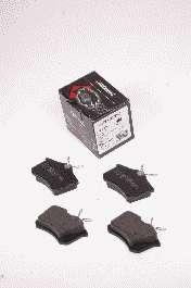 Комплект тормозных колодок, дисковый тормоз PROTECHNIC PRP0005