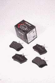 Комплект тормозных колодок, дисковый тормоз PROTECHNIC PRP0013