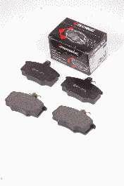Комплект тормозных колодок, дисковый тормоз PROTECHNIC PRP0123