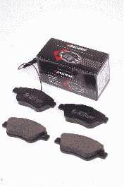 Комплект тормозных колодок, дисковый тормоз PROTECHNIC PRP0187