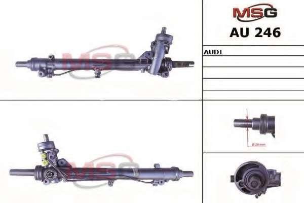 Рулевая рейка MSG AU 246