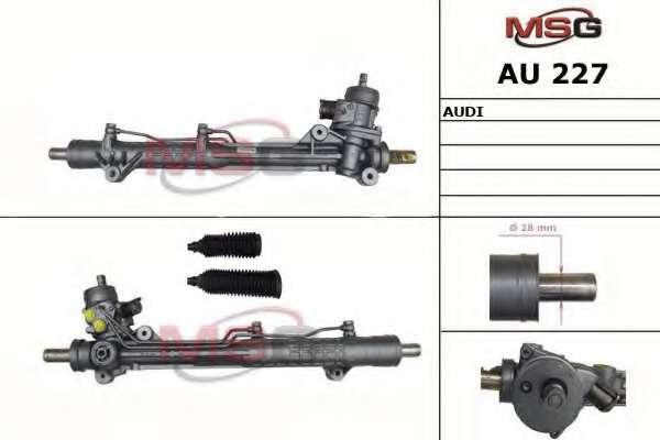 Рулевая рейка MSG AU 227