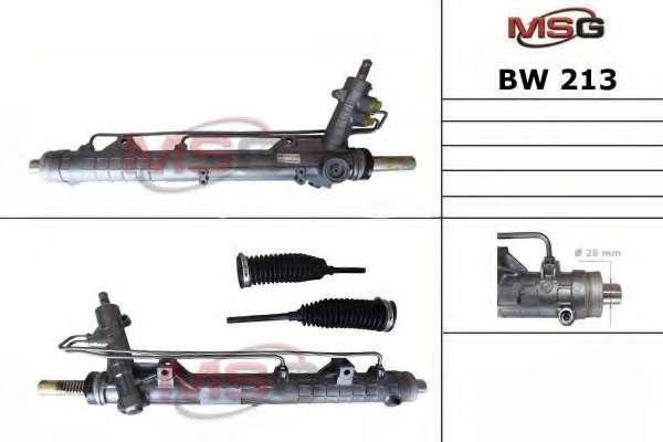 Рулевая рейка MSG BW 213