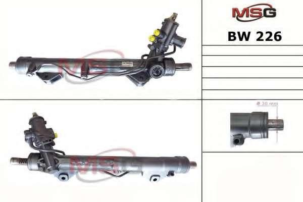 Рулевая рейка MSG BW 226