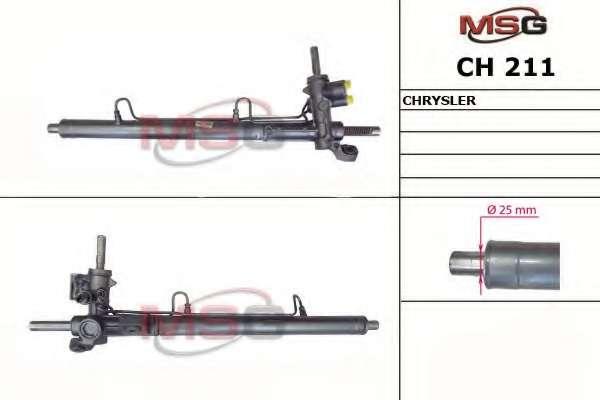 Рулевая рейка MSG CH 211