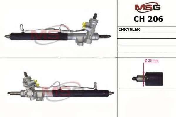 Рулевая рейка MSG CH 206