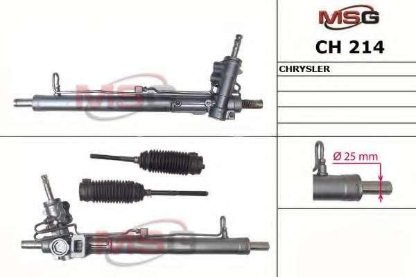 Рулевая рейка MSG CH 214