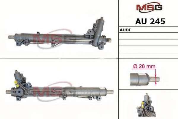 Рулевая рейка MSG AU 245