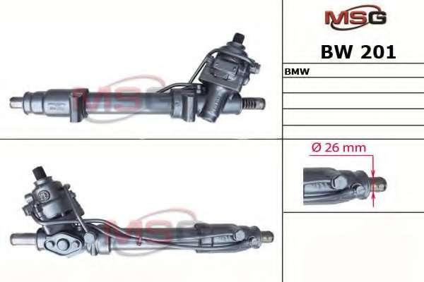 Рулевая рейка MSG BW 201