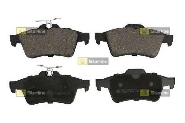 Комплект тормозных колодок, дисковый тормоз STARLINE BD S253