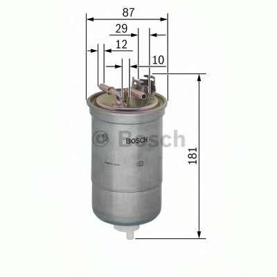 Топливный фильтр BOSCH 0 450 906 453