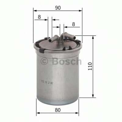 Топливный фильтр BOSCH 0 450 906 500