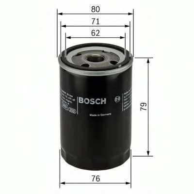 Масляный фильтр BOSCH 0 451 102 056