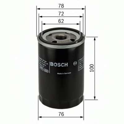 Масляный фильтр BOSCH 0 451 103 232
