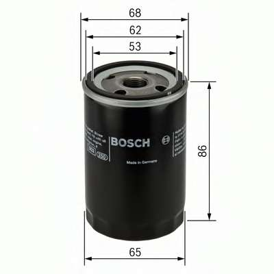 Масляный фильтр BOSCH 0 451 103 276