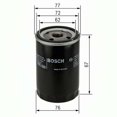 Масляный фильтр BOSCH 0 451 103 300