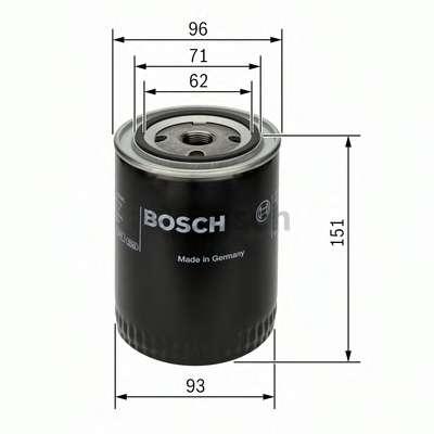 Масляный фильтр BOSCH 0 451 203 012
