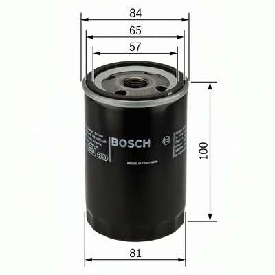 Масляный фильтр BOSCH 0 986 452 023