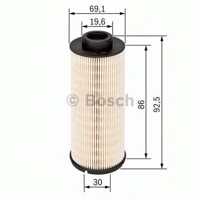 Топливный фильтр BOSCH 1 457 431 705