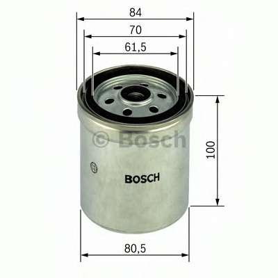 Топливный фильтр BOSCH 1 457 434 123