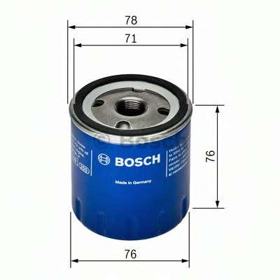 Масляный фильтр BOSCH F 026 407 078