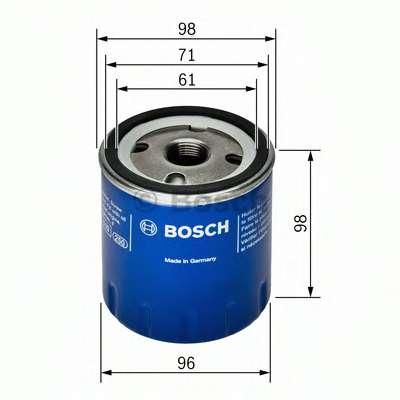 Масляный фильтр BOSCH F 026 407 106