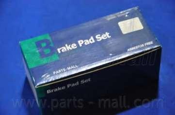 Комплект тормозных колодок, дисковый тормоз PARTS-MALL PKA-021