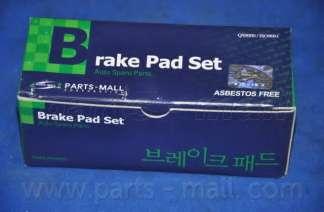 Комплект тормозных колодок, дисковый тормоз PARTS-MALL PKA-027