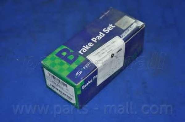 Комплект тормозных колодок, дисковый тормоз PARTS-MALL PKJ-E05