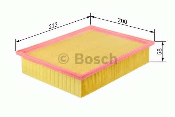 Воздушный фильтр BOSCH F 026 400 097