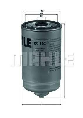 Топливный фильтр KNECHT KC 102