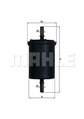 Топливный фильтр KNECHT KL 248