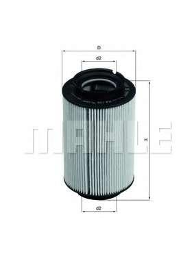 Топливный фильтр KNECHT KX 178D