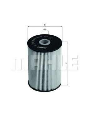 Топливный фильтр KNECHT KX 228D