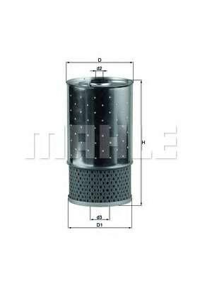 Масляный фильтр KNECHT OX 38D